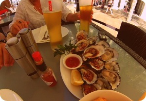 more oysters please c